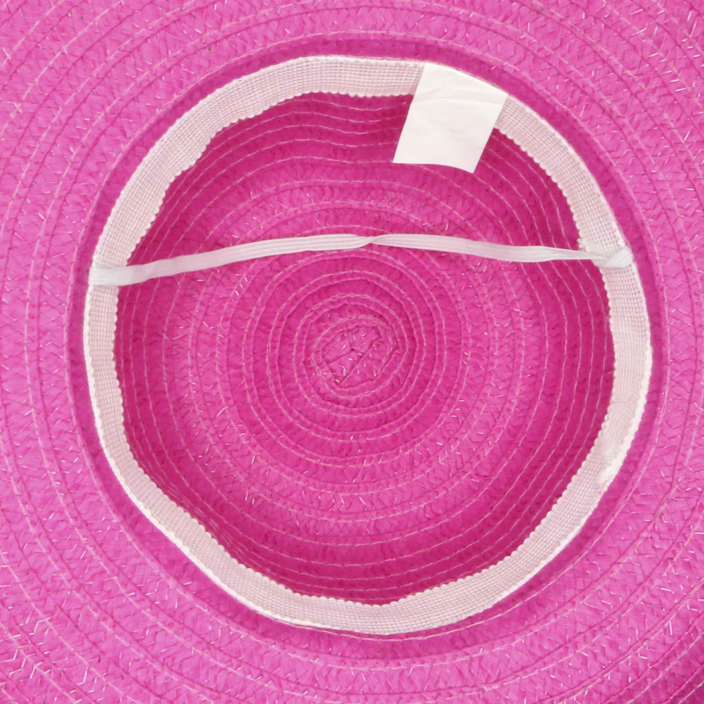 Sombrero capelina de adulto ala ancha.