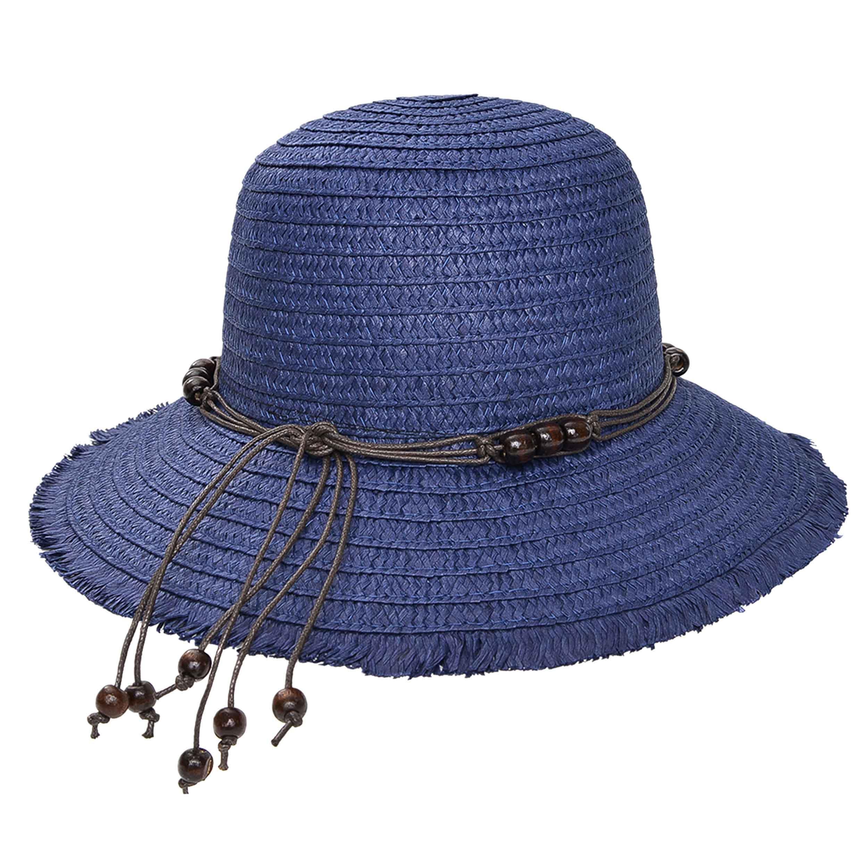 Sombrero capelina de adulto bordes desmechados.