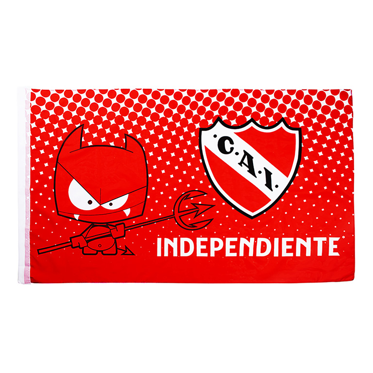 BANDERA DIABLITO CLUB ATLETICO INDEPENDIENTE