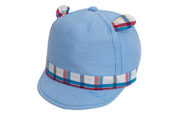 GORRA CON GUARDA MULTICOLOR Y OREJITAS