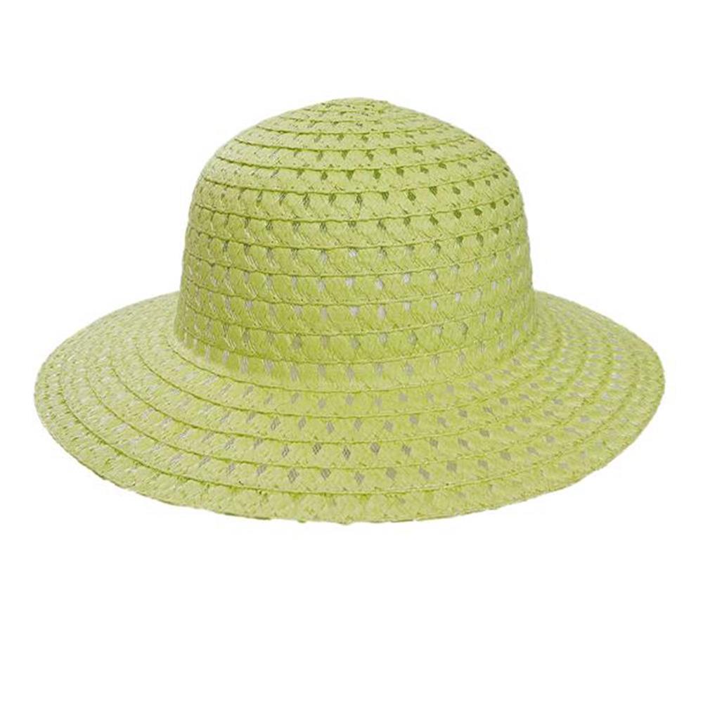 Sombrero capelina de niña calada