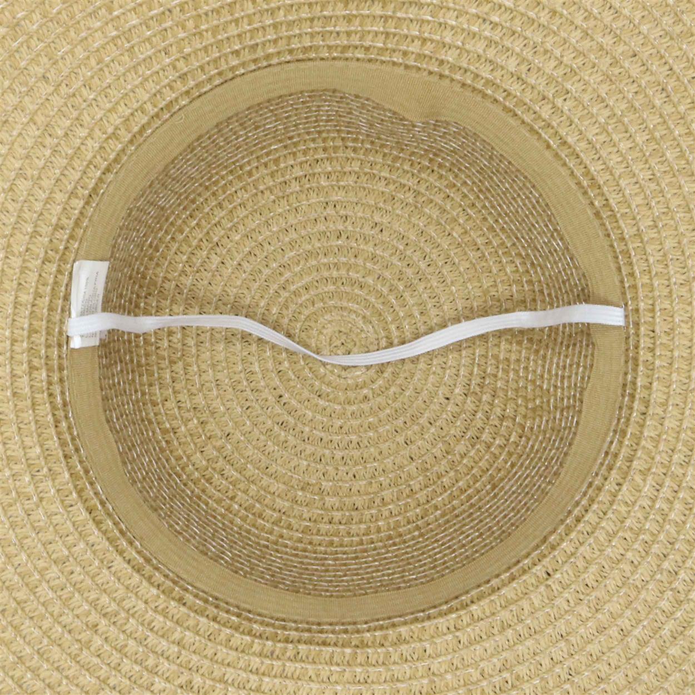 Sombrero capelina de adulto con ala ancha ondulada