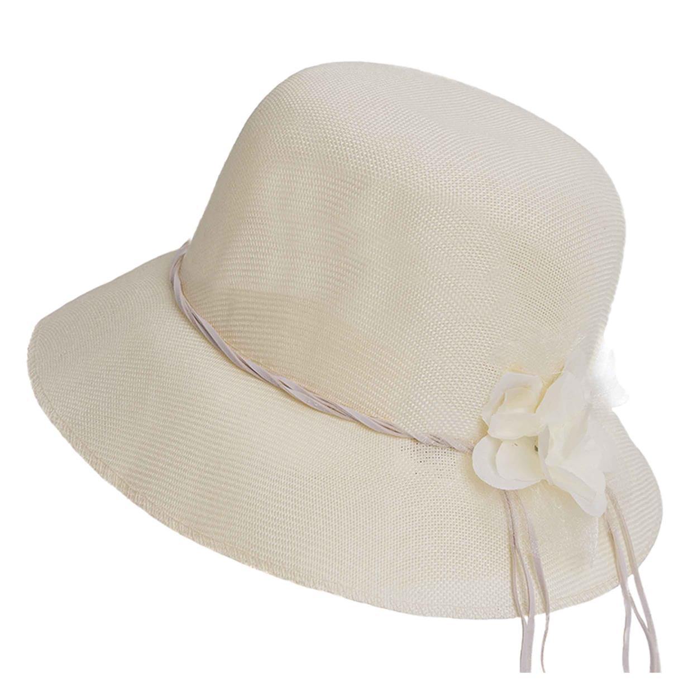 Sombrero capelina de adulto con ala corta