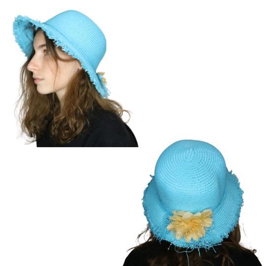 Sombrero capelina de adulto borde desmechado