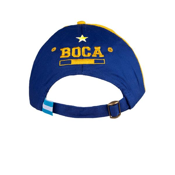 GORRA SOFT CLUB ATLETICO BOCA JUNIORS