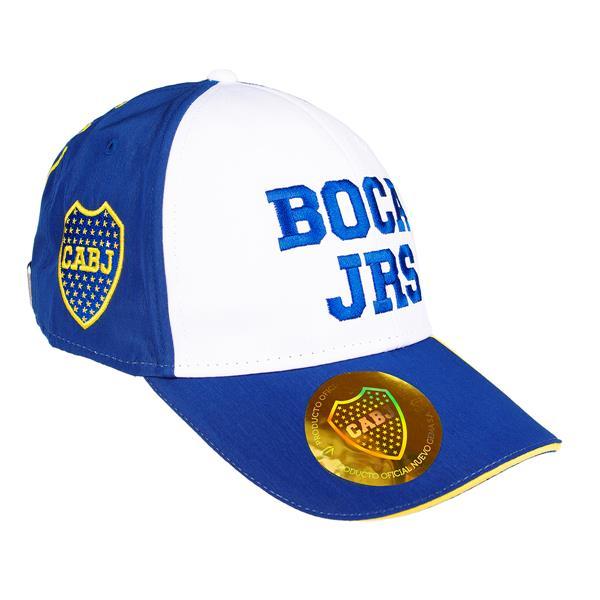 GORRA SUPER BORDADA CLUB ATLETICO BOCA JUNIORS