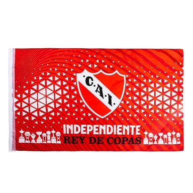 BANDERA ESCUDO CLUB ATLETICO INDEPENDIENTE