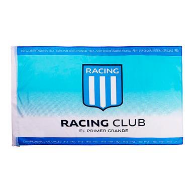 BANDERA ESCUDO RACING CLUB