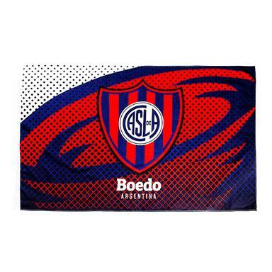 BANDERA ESCUDO BOEDO CLUB ATLETICO SAN LORENZO DE ALMAGRO