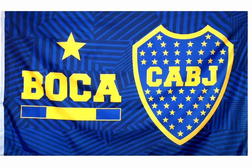 BANDERA ESTRELLA CLUB ATLETICO BOCA JUNIORS