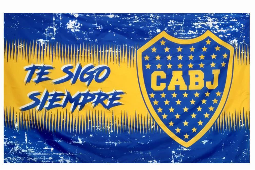 BANDERA TE SIGO SIEMPRE CLUB ATLETICO BOCA JUNIORS