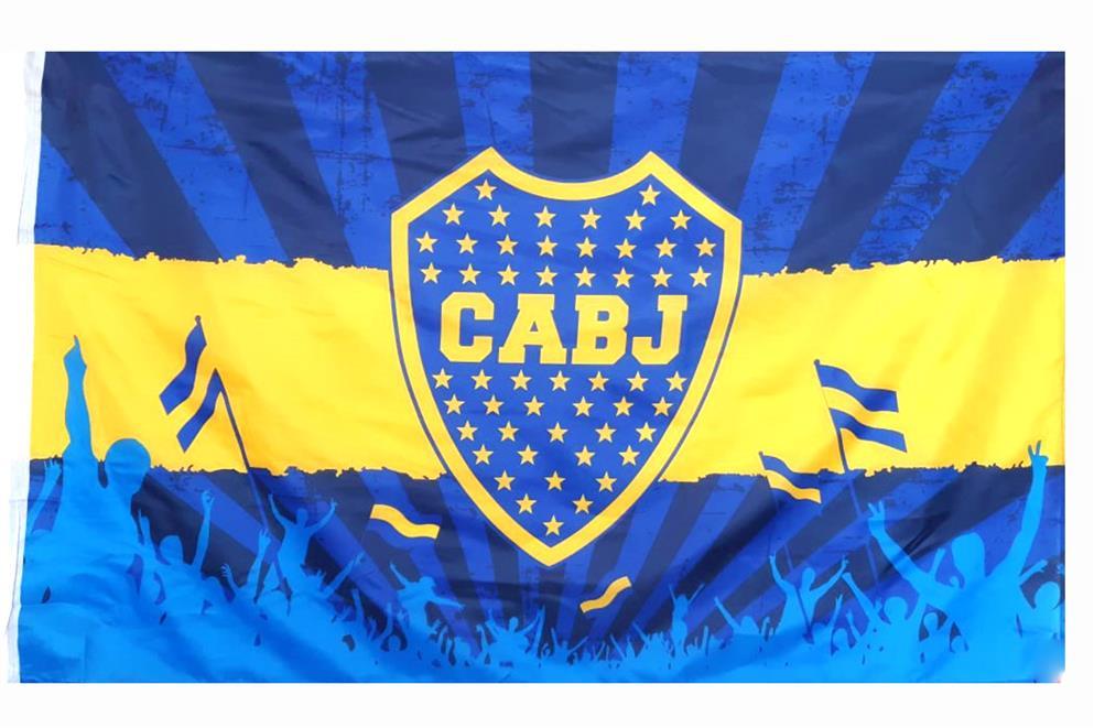 BANDERA HINCHADA CLUB ATLETICO BOCA JUNIORS
