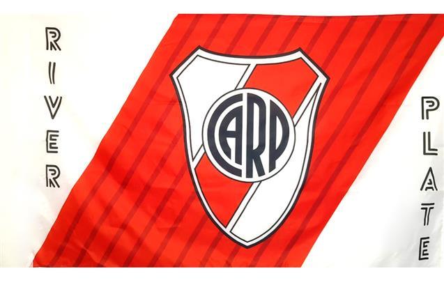 BANDERA ESCUDO CLUB ATLETICO RIVER PLATE