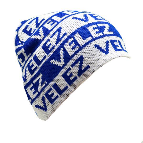 Gorro tejido Club Atletico Velez Sarsfield