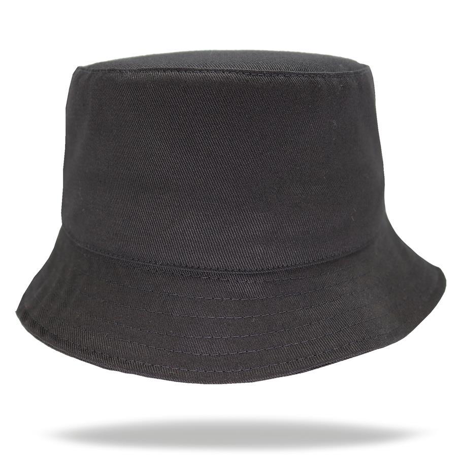 Sombrero piluso de adulto en gabardina negro.