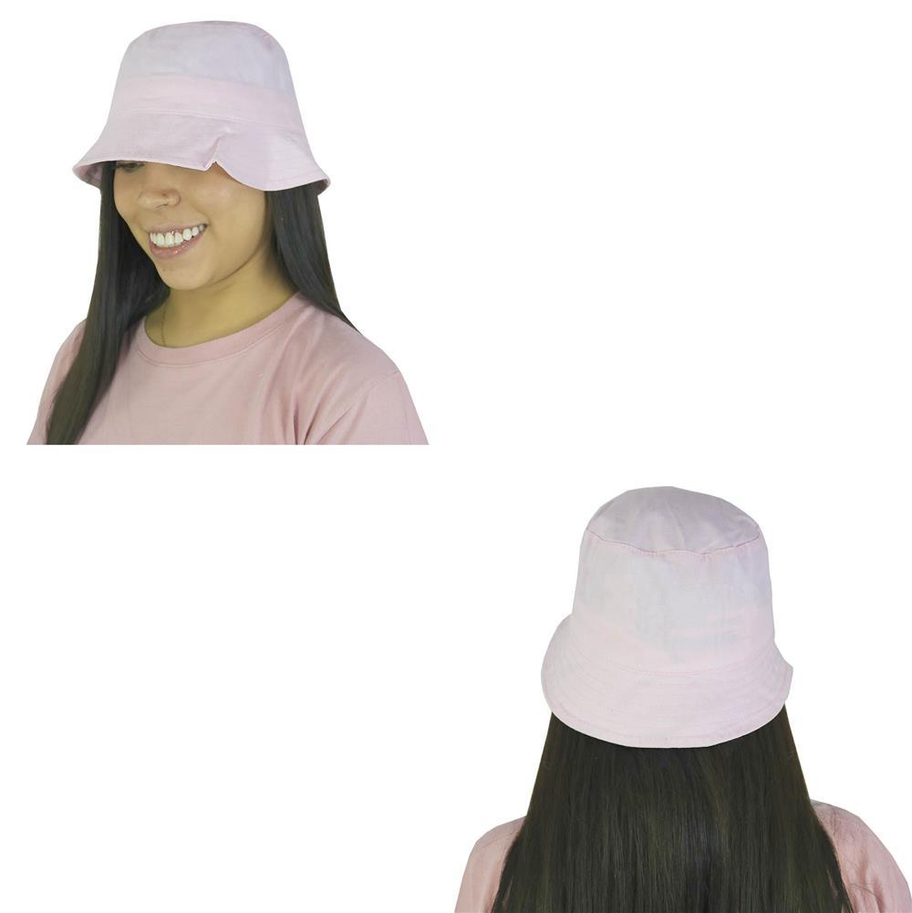 Sombrero piluso de adulto en gabardina rosa