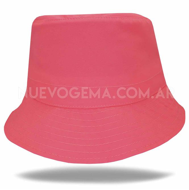 Sombrero piluso de adulto en rosa fluo
