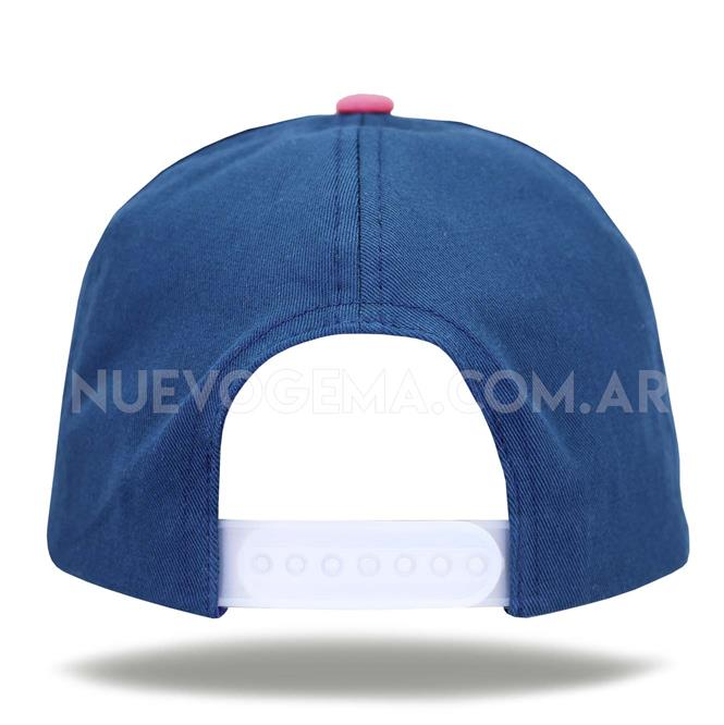Gorra de Algodón 5 Gajos Ajuste de Velcro
