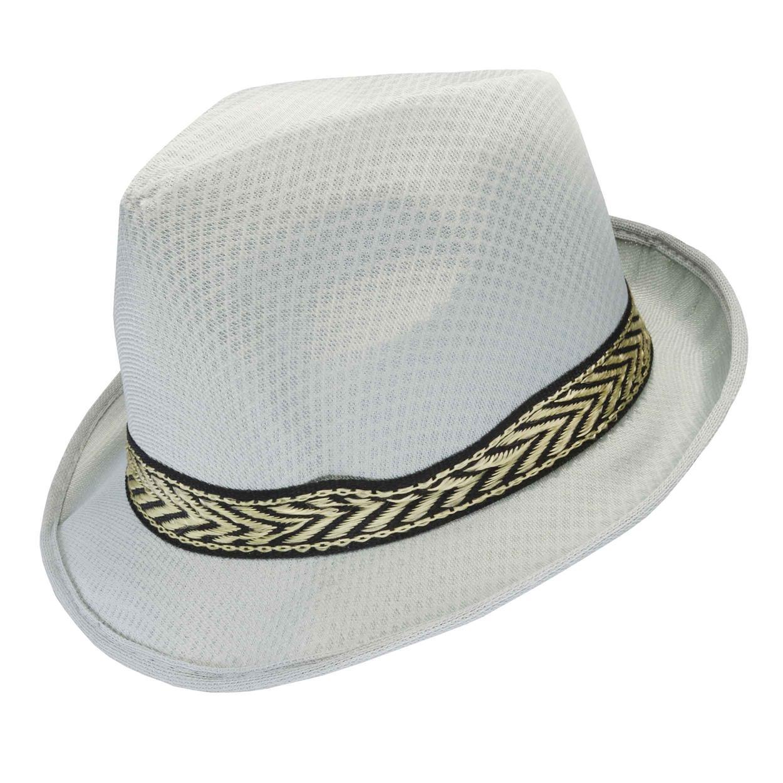 Sombrero Gardelito de adulto en poliéster.