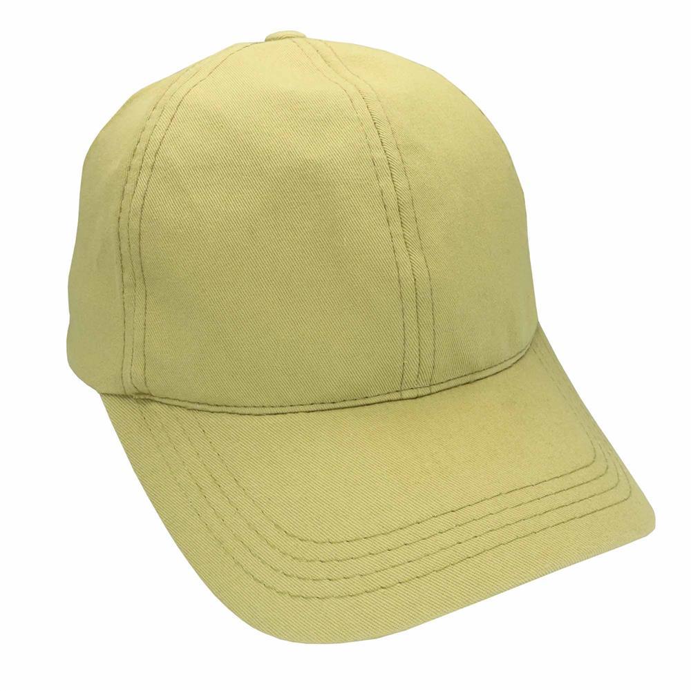 Gorra de adulto visera curva ajuste de hebilla