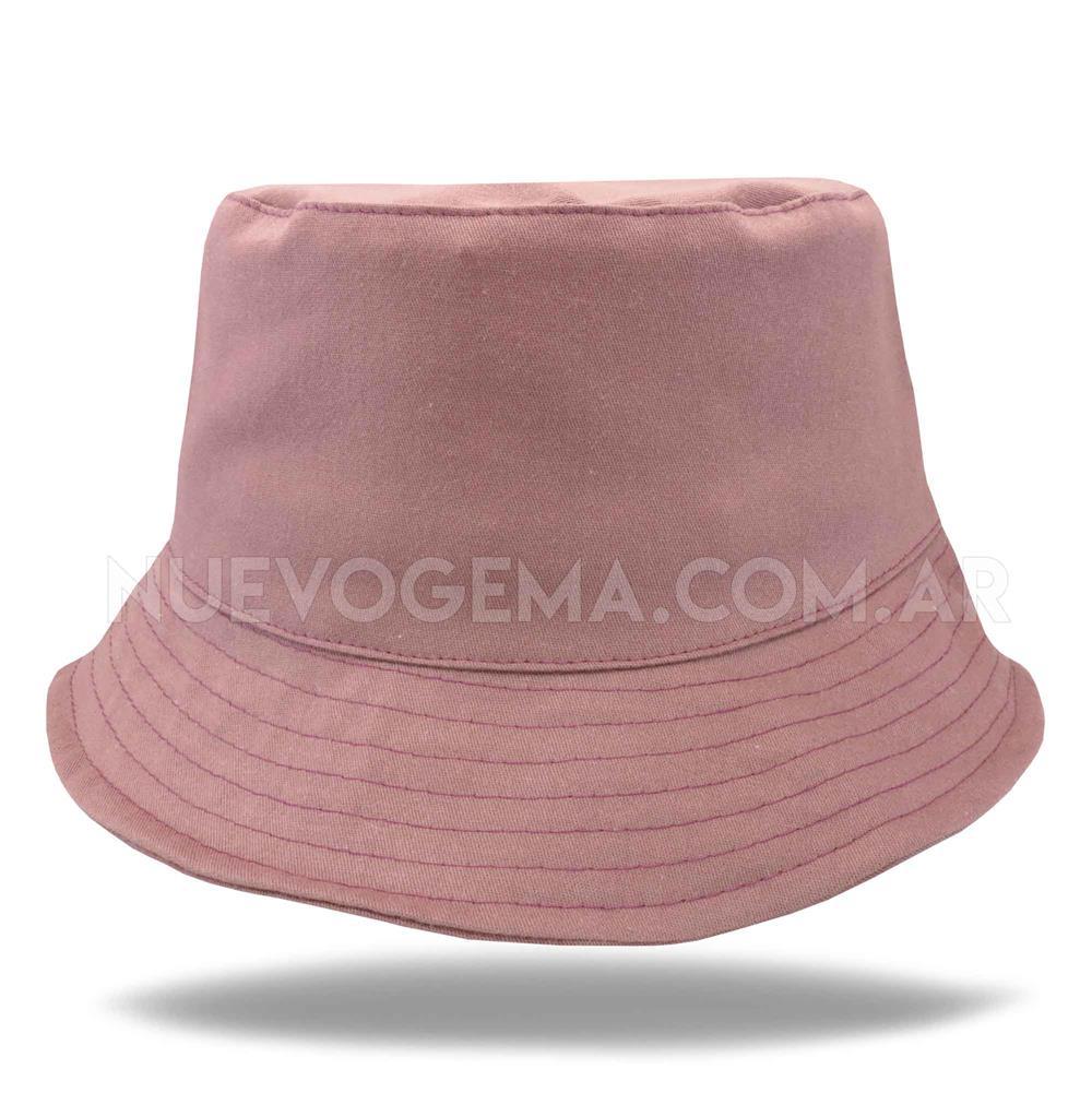 Sombrero piluso de adulto en gabardina borravino